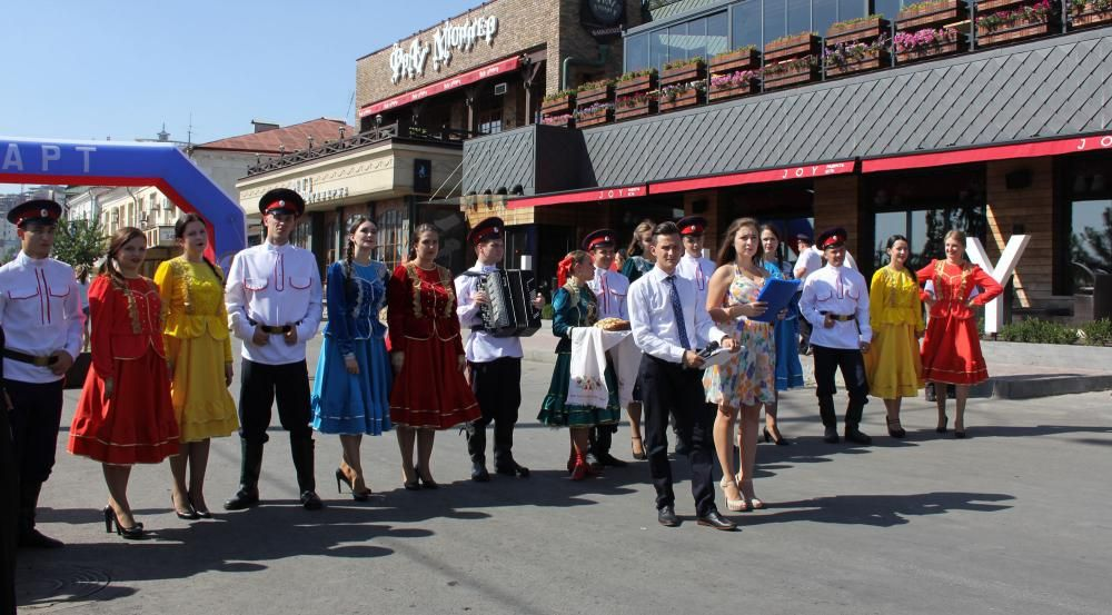 Около 150 тысяч человек приняли участие в праздновании Дня города в донской столице.