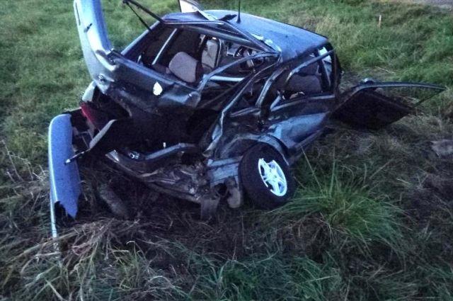 ВПрикамье натрассе в трагедии умер пассажир