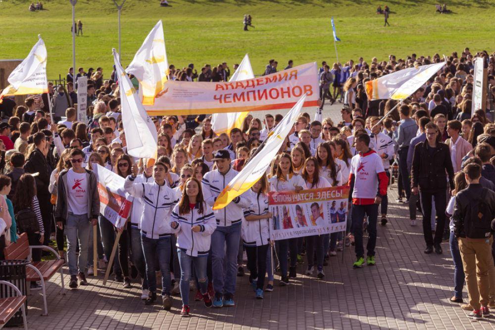 Первокурсники вузов и техникумов Татарстана собрались 16 сентября на параде.