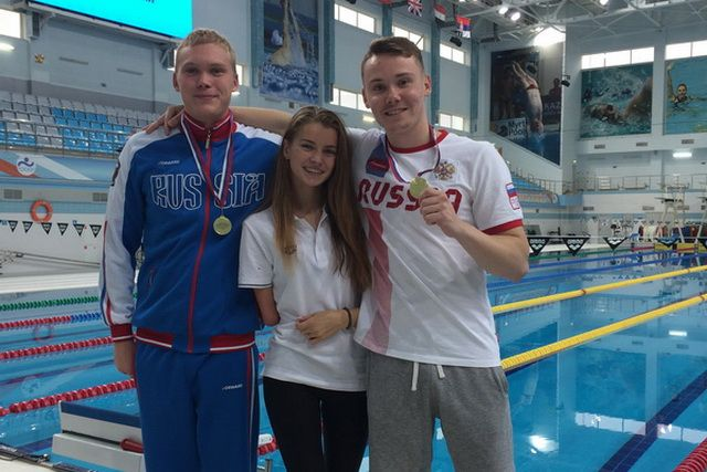 Пловцы школы «РФ» завоевали 32 медали напервенстве Российской Федерации среди людей сограниченными возможностями