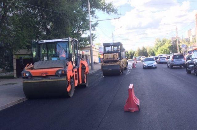 ВРостове до20октября закончится ремонт 112км дорог
