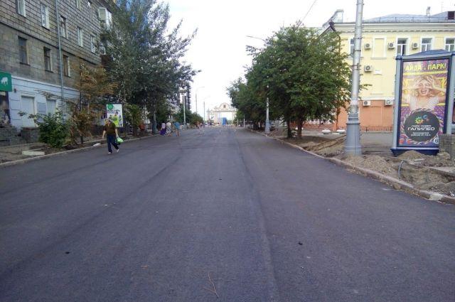 В Красноярске проходит капитальный ремонт проспекта Мира.
