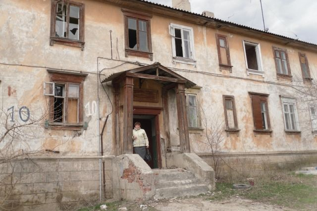 Муниципалитет не всегда вовремя сносит аварийные многоквартирные дома.