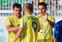Украина на 7-м месте в Евролиге по пляжному футболу