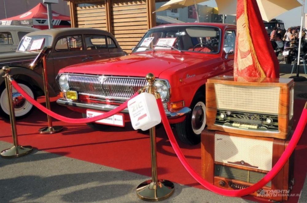 Восстановленный ГАЗ-24 1983 года выпуска.