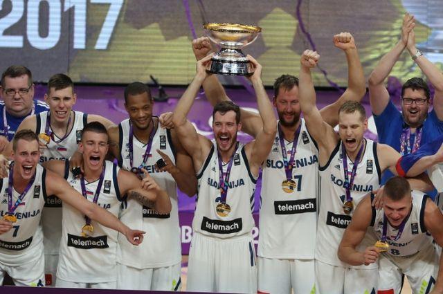 Словения сенсационно победила на Евробаскете-2017