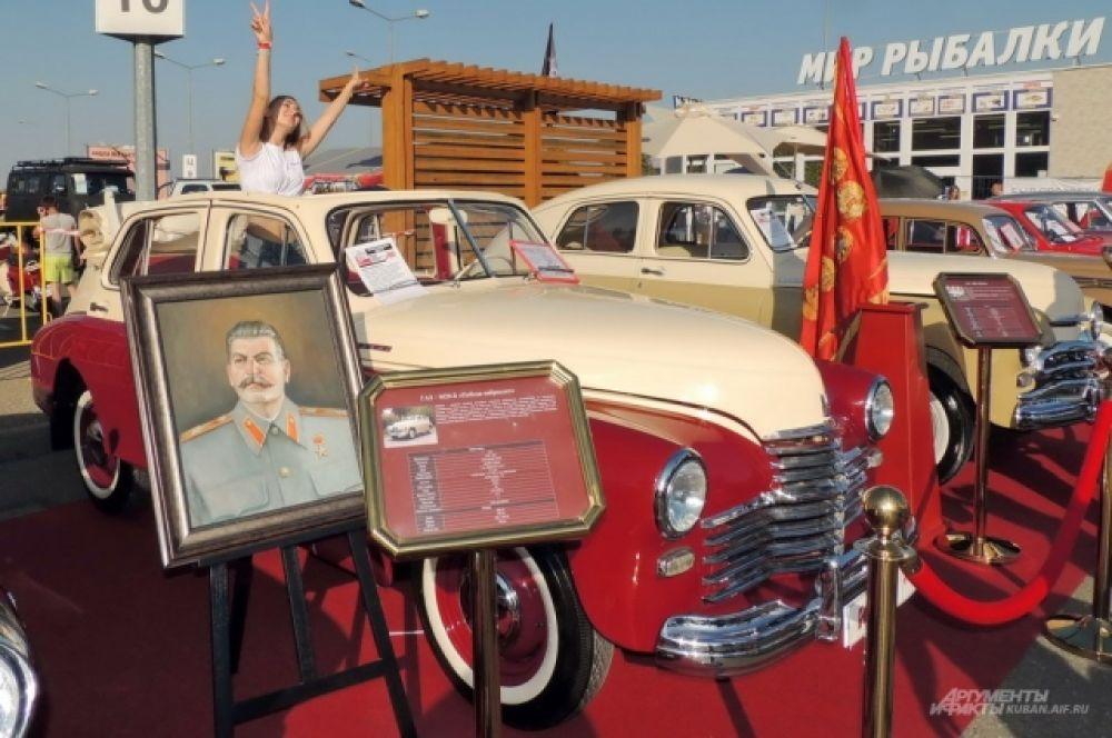 Самодельный кабриолет, созданный на основе ГАЗ М-20 «Победа».