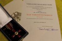 Оренбуржец получил награду от президента Германии.