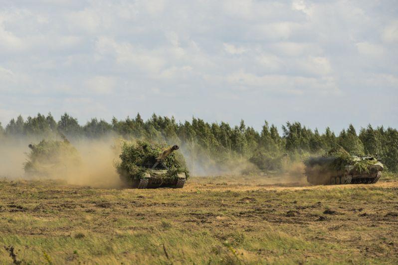Выдвижение подразделений ВС РФ и Республики Беларусь в район проведения учения «Запад-2017».
