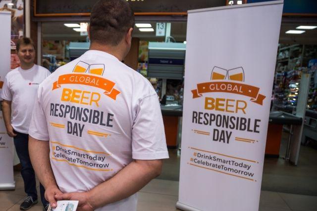 Волонтёры познакомили продавцов и потребителейс правилами ответственности при покупке и реализации алкоголя.