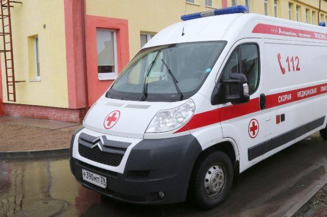 В больницу Калининграда доставили раненого вилкой в грудь мужчину.