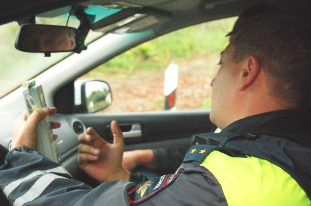 За два дня задержали 63 пьяных водителя.