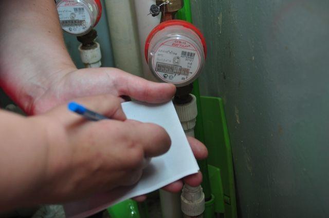 Показания счетчиков воды можно передавать в течение всего месяца.