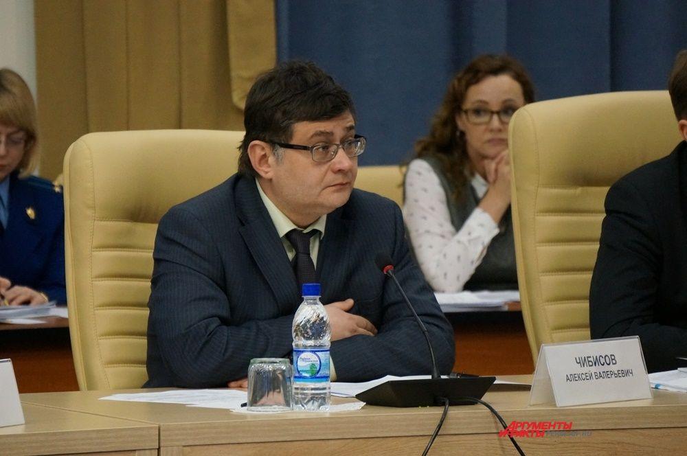 Алексей Чибисов – зампредседателя Правительства, министр промышленности, предпринимательства и торговли края.
