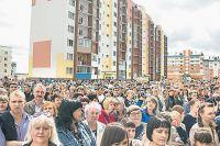 В городе Анжеро-Судженске Кемеровской обл. в августе этого года новосёлами стали 512 семей.