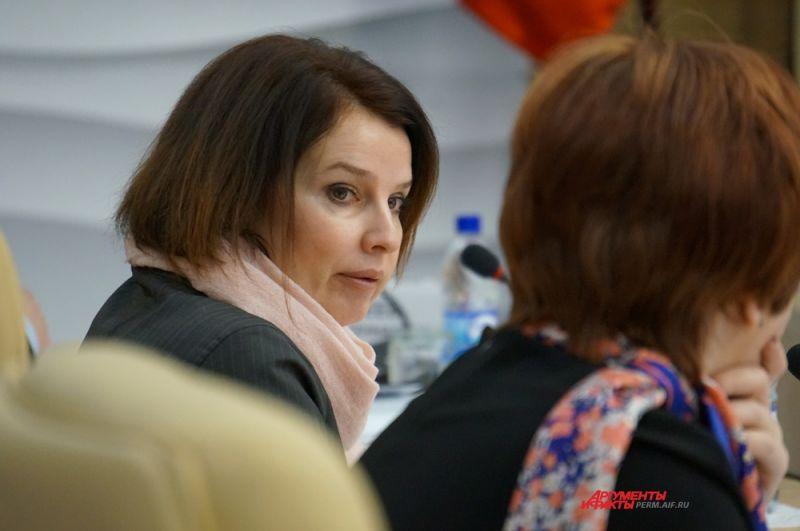 Елена Лопаева – зампредседателя Правительства – руководитель Аппарата Правительства края.