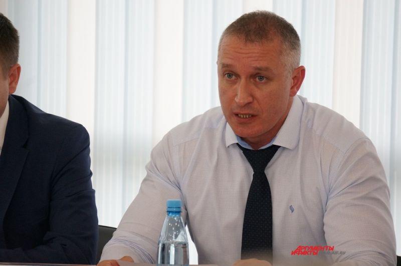 Олег Глызин – министр физической культуры, спорта и туризма Пермского края.