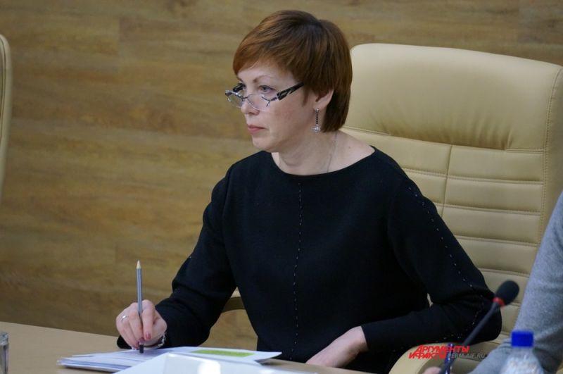 Татьяна Абдуллина – зампредседателя Правительства по вопросам соцполитики и здравоохранения края.