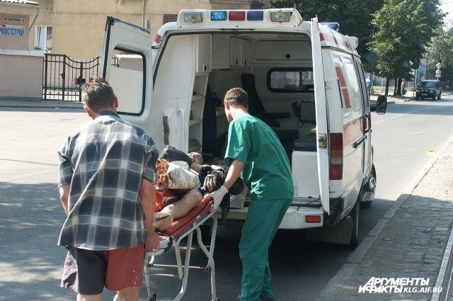 В Калининградской области рабочие под землей отравились неизвестным газом.
