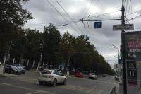 ДТП произошло на перекрёстке Компроса с улицей Краснова.