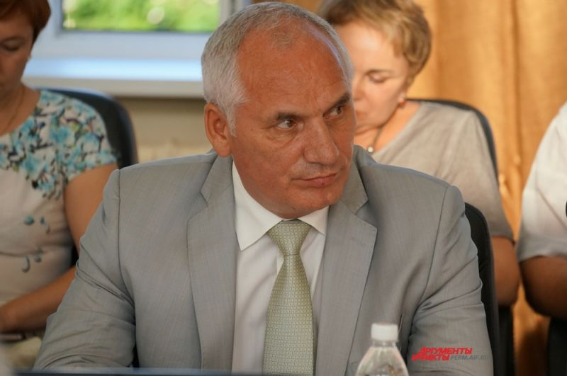 Выктор Рычков - Глава Коми-Пермяцкого округа - министр Пермского края.