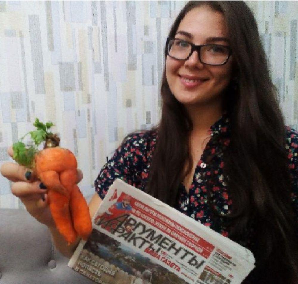 Участник №12. Любовь Бородулина, Шелехов. «То ли мишка, то ли культурист. А сажали ведь морковь!»