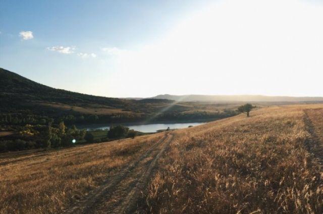 Аянское водохранилище (Симферопольский район).