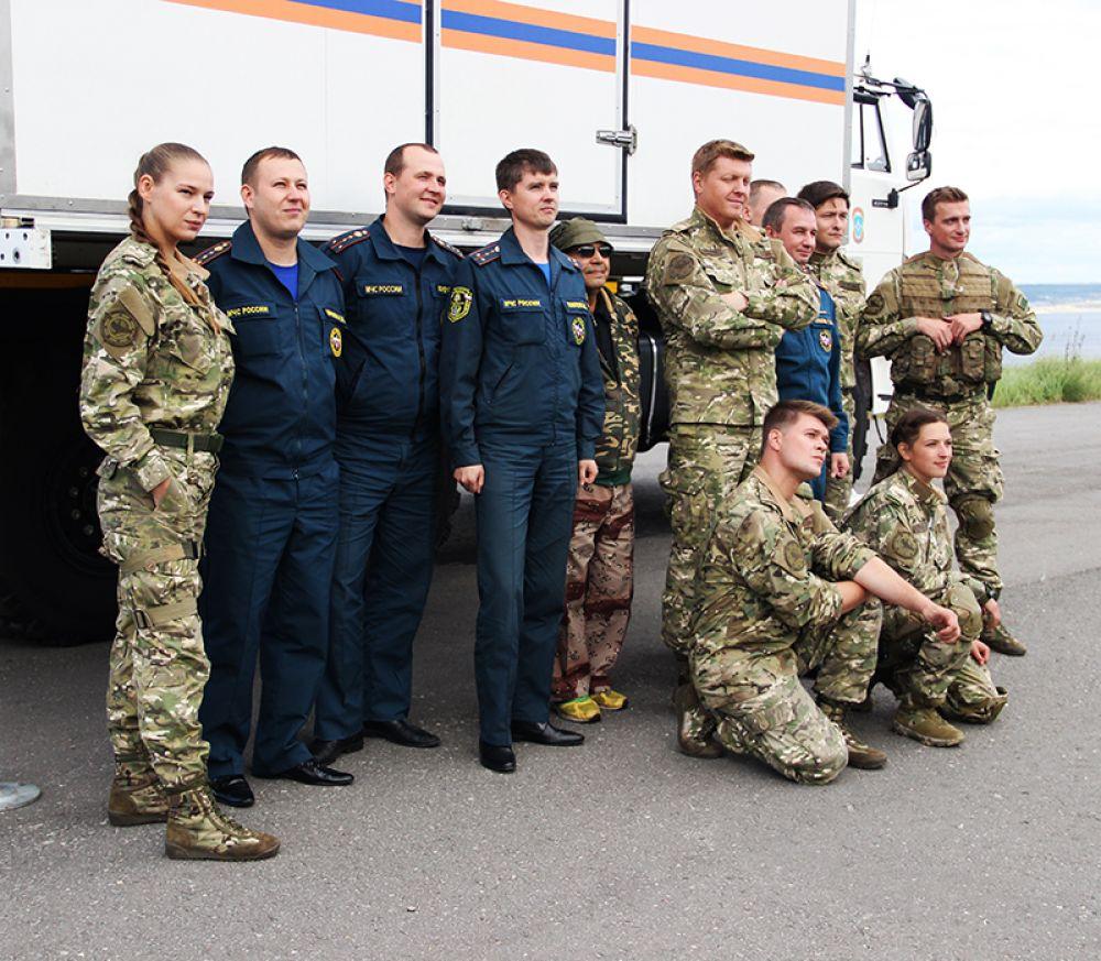 С ульяновской командой МЧС