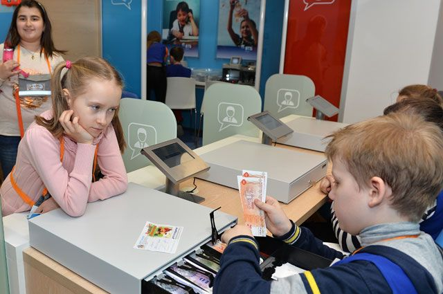 Детей научат, как проверить подлинность купюр икак ихграмотно пересчитать.