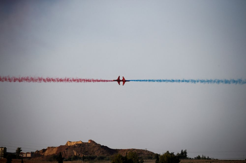 Команда Red Arrows RAF.