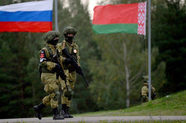 Военнослужащие на учениях «Запад-2017».