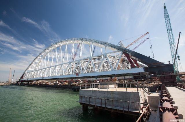 Строители приступили кподготовке «Морской операции»— Хроники Керченского моста