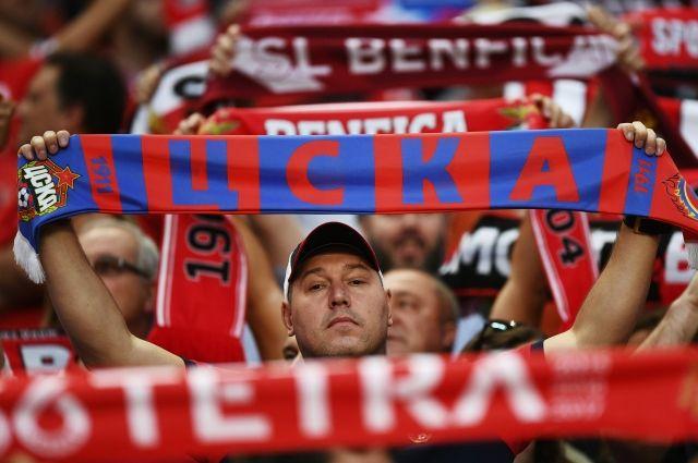 ЦСКА реализовал все билеты надомашние матчи Лиги чемпионов
