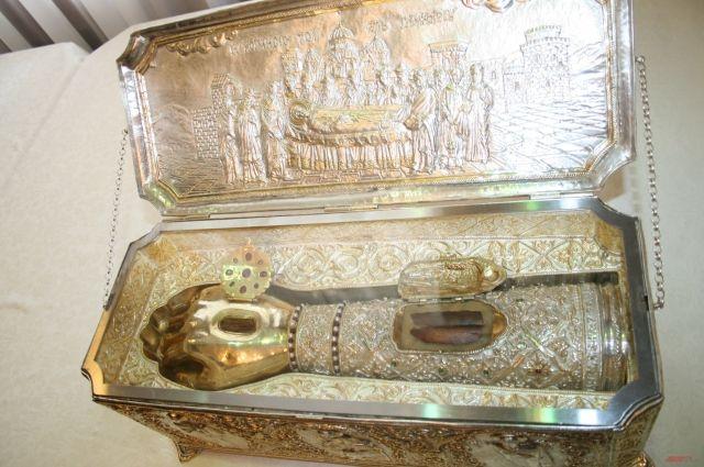 ВЕкатеринбург привезут православную святыню изГреции