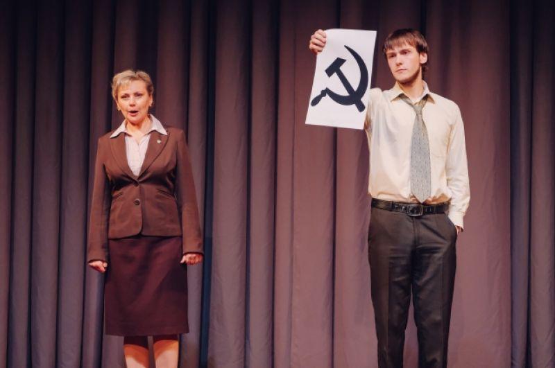Спектакль создан в рамках проекта «К столетию революции».