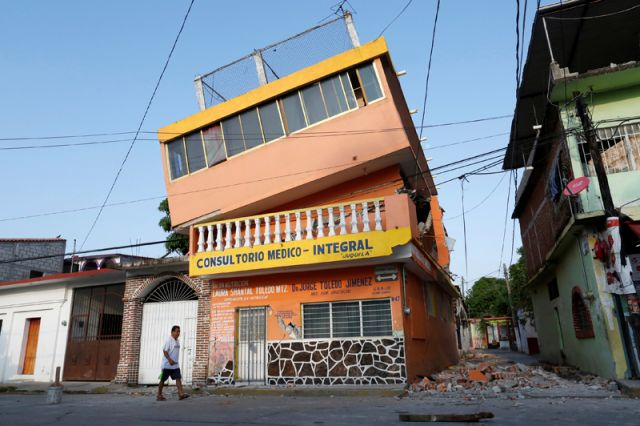 Последствия мощного землетрясения вМексике
