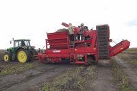 55% площади зерновых культур аграрии региона уже убрали.