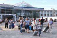 Аэропорт «Храброво» предупредил о сокращении количества стоек регистрации.
