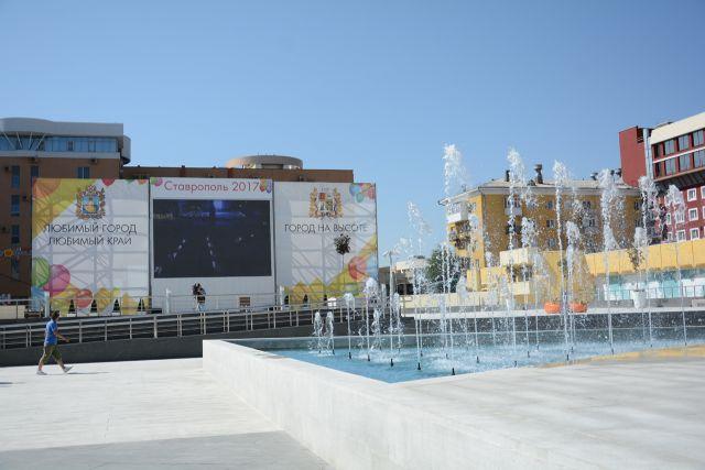 Зимой Александровскую площадь Ставрополя украсят ледовые фигуры