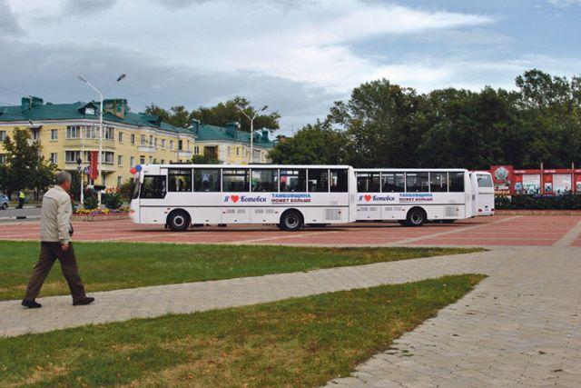 Котовские автобусы - новые, красивые и экологически чистые.