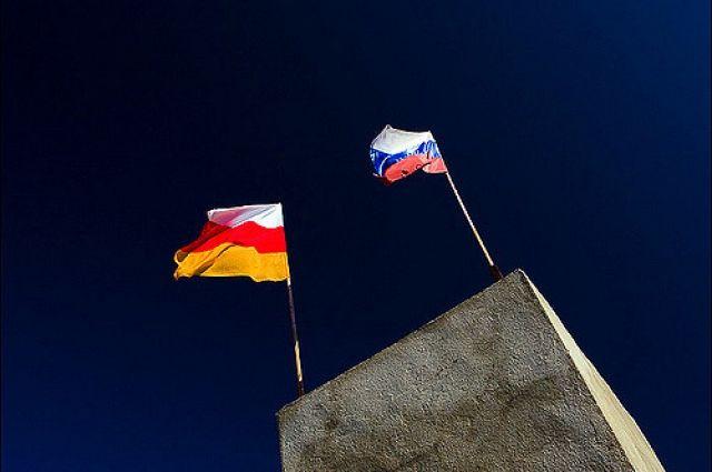 Путин поздравил граждан Южной Осетии сДнем республики