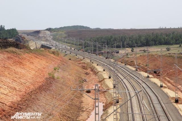 РЖД запустили движение грузовых поездов по линии в обход Украины
