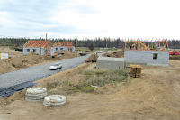 Новое жильё для погорельцев Канска и Лесосибирска обещали сдать в сентябре.