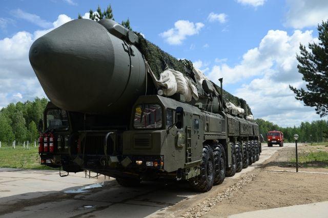 На космодроме «Плесецк» успешно испытали баллистическую ракету «Ярс»