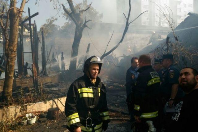 Дело завели пофакту погибели 2-х человек напожаре вростовском отеле