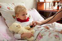 Количество заболевших ОРВИ детей стремительно растёт.