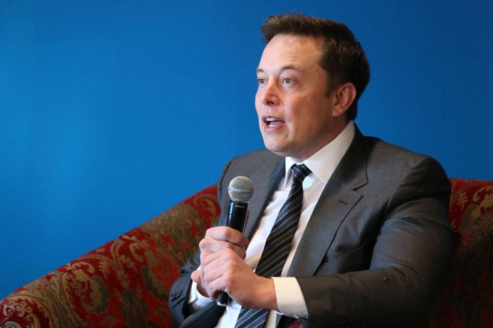 Глава Tesla и основатель SpaceX Илон Маск.