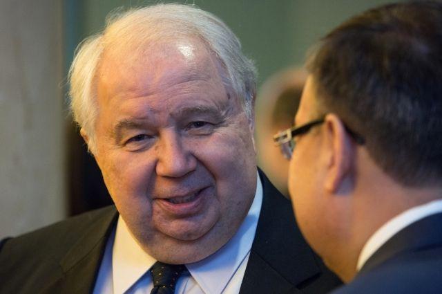 Экс-посол РФ в США Сергей Кисляк стал сенатором