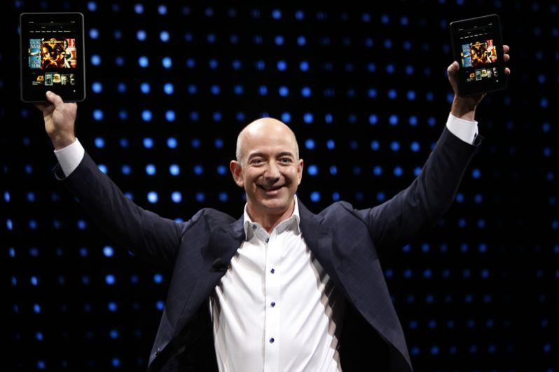 Глава и основатель интернет-компании Amazon.com Джефф Безос.