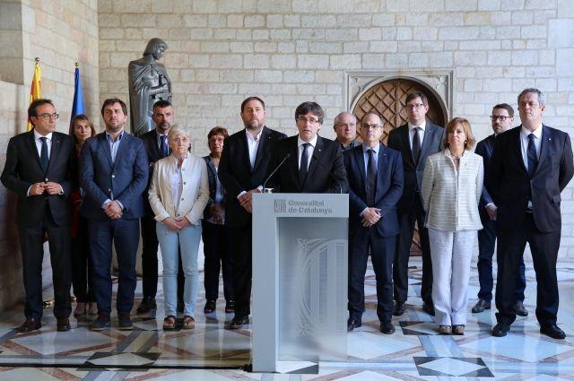 Глава Каталонии заявил о лишении Испанией возможности самоуправления
